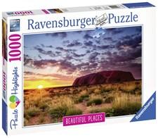 Ayers Rock Australia, Pussel 1000 bitar, Ravensburger