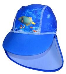 UV-hatt, Korallrev/Blå, storlek 110-128, Swimpy