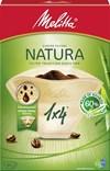 Melitta Natura 1x4 Kaffefilter 80-pack
