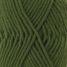 Drops Big Merino Uni Colour Garn Ullgarn 50g Forest Green 14