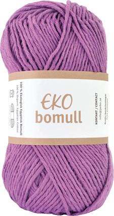 Järbo Eko bomull Garn Eko Bomull 50g Lila (63209)