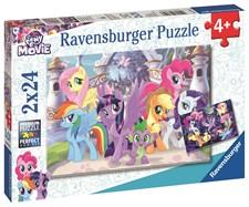 Pussel 2x24 bitar, My Little Pony, Ravensburger