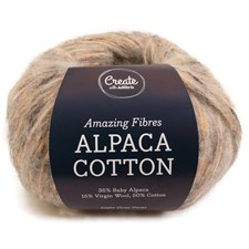 Adlibris Alpaca Cotton 50g Light Grey Twist A687