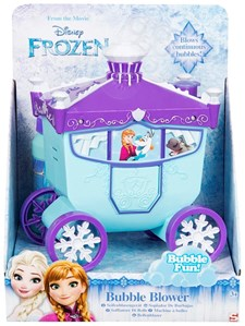 Elsa Carriage Bubble Machine, Disney Frozen