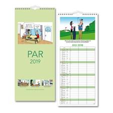 Väggkalender 2019 Burde Parkalendern