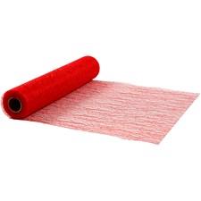 Kuitukangas, lev. 30 cm, 10 m, punainen