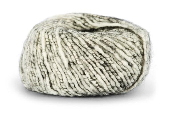 Knit At Home Soft Superkid Garn Mohair Ullmix 50 g Oblekt/Antracit Melerad 1002