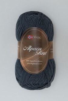 Viking of Norway Alpaca Fine 50 gr Mørk blå 626