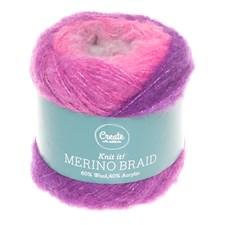 Adlibris Merino Braid 100g Purple Dream B157