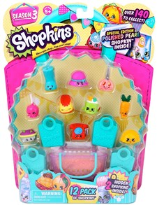 Shopkins set, 12-pack, Season 3