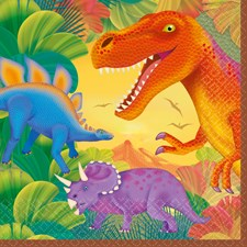 Dinosaurer, Servietter, 16 stk.