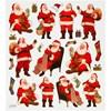 Julklistermärken Tomtar, 15x16,5 cm, 1 ark