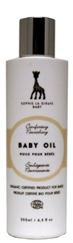 Baby Oil 200ml, Sophie The Giraffe