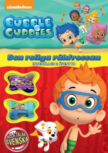 Bubble Guppies - Säsong 1  Vol 5 - Den roliga räkfrossan  Fox-Paramount