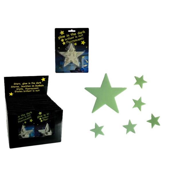 Självlysande stjärnor  Out of the blå - barnrumsdekoration