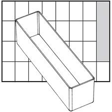 Basisinnsats, str. 163x39 mm, H: 47 mm, 1 stk.
