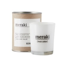 Meraki Doftljus Fresh Cotton H: 6.7 cm