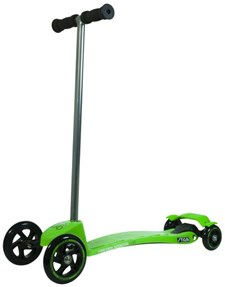 Scooter Mini Kick Quad, Green, Stiga