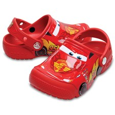 Toffel Disney Cars 3, Röd, Crocs
