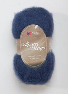 Viking of Norway Alpaca Maya 50 gr laivastonsininen