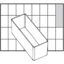 Raaco lådinsats, stl. 109x39 mm, H: 47 mm, 1 st.