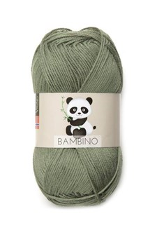 Viking of Norway Bambino Garn Bomullsmix 50g Grön 434