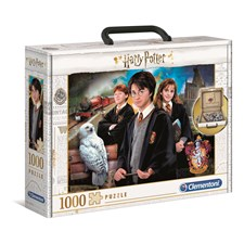 Harry Potter Briefcase Puslespill 1000 biter Clementoni