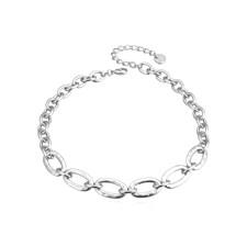 Choice Kort Halsband Silver