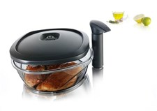 Instant Marinater med pumpe, 2,5 L ,Tomorrow's Kitchen/Vacu Vin