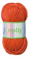 Molly Akrylgarn 50 g Tegelröd (35030)