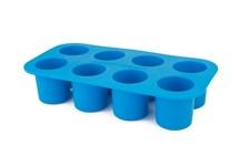 Porsjonsform, Blå, Barnmatsburken