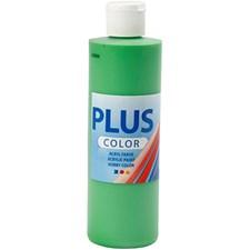 Plus Color-askartelumaali, 250 ml, kirkas vihreä