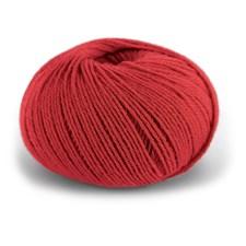 Dale Garn Pure Eco Baby Wool Økologisk Ull 50 g Krapprød 1318