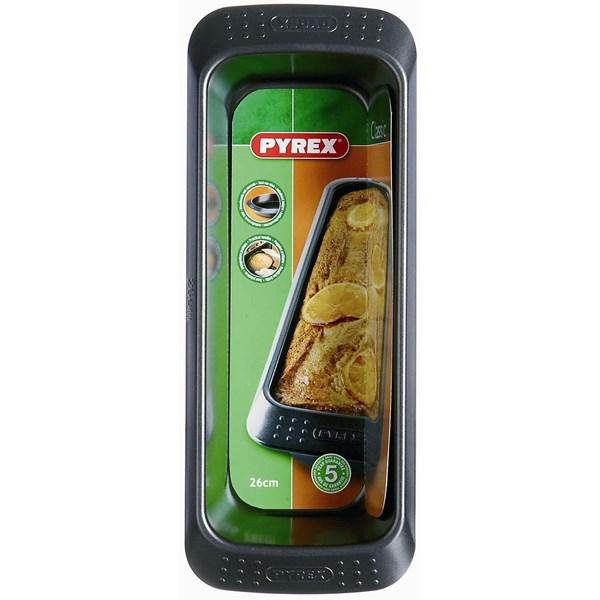 Pyrex Asimetria Brödform 30 cm Kolstål Svart