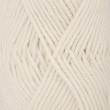 Drops Big Merino Uni Colour Garn Ullgarn 50g Off White 01