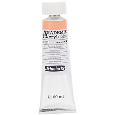 Schmincke AKADEMIE® Acryl color, opaque, extremely light fast, 60 ml, flesh colour (331)