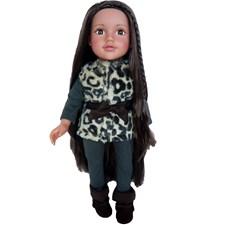 Jessica doll, 46 cm, Design a Friend