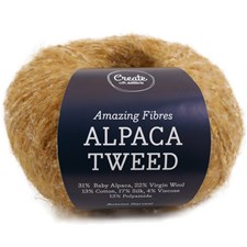Adlibris, Alpacka Tweed, 50 g, Autumn Harvest A745