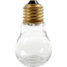 Lamppupurkki, kork. 8 cm, 12 kpl