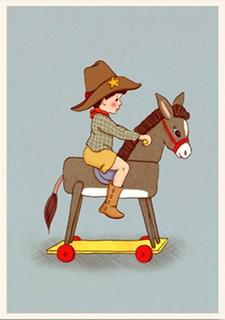 Gratulasjonskort Belle &Boo Donkey