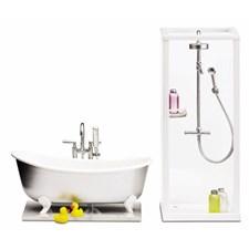 Småland dusj + badekar, Lundby
