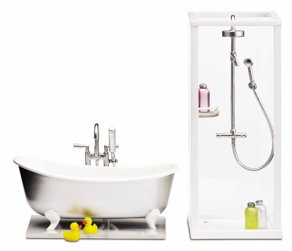 Småland-suihku ja -kylpyamme, Lundby