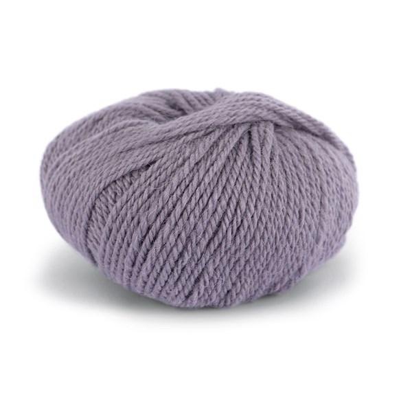 Knit At Home Chunky Alpaca Wool Ullmix 50 g Grå Lavendel 611
