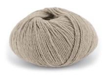 Du store Alpakka Wool Garn Ullmix 50 g Lys Beigemelert 505