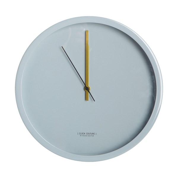 House Doctor Clock Couture Väggklocka 30 cm Ljusgrå (grå)