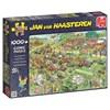 Jan van Haasteren, Lawn Mower Race, Puslespill, 1000 brikker