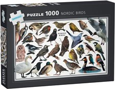 Pussel Fåglar 1000 bitar, Egmont Kärnan