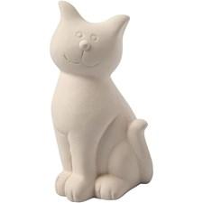 Sparbössa Katt 14 cm Vit 8 st