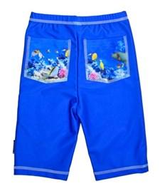 UV-shorts, Korallrev/Blå, strl 122-128, Swimpy