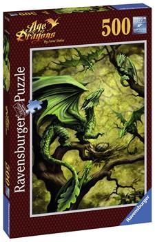 Forest Dragon, Pussel 500 bitar, Ravensburger